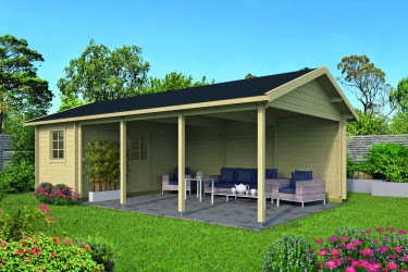 Carport - abri EVER 22,00...