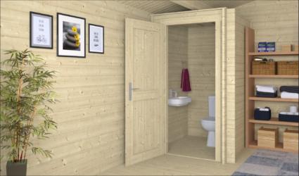 Toilet kit 1,40 M2